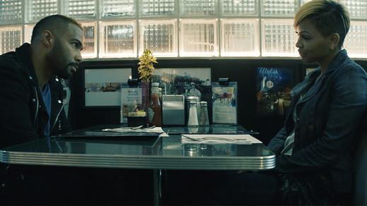 Omari Hardwick-Meagan Good Romance 'A Boy. A Girl. A Dream,' Directed by Zero Gravity's Qasim Ba