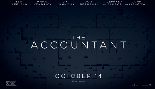 The Accountant In Theatres October 14th, 2016