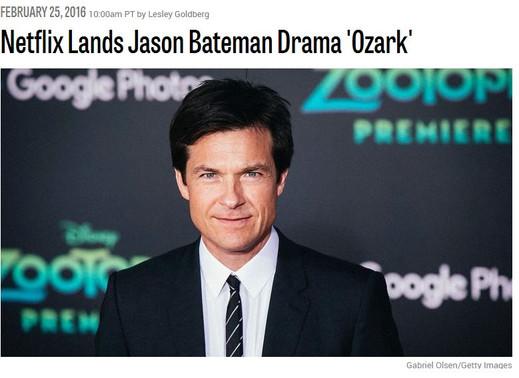 Netflix Lands Jason Bateman Drama 'Ozark'