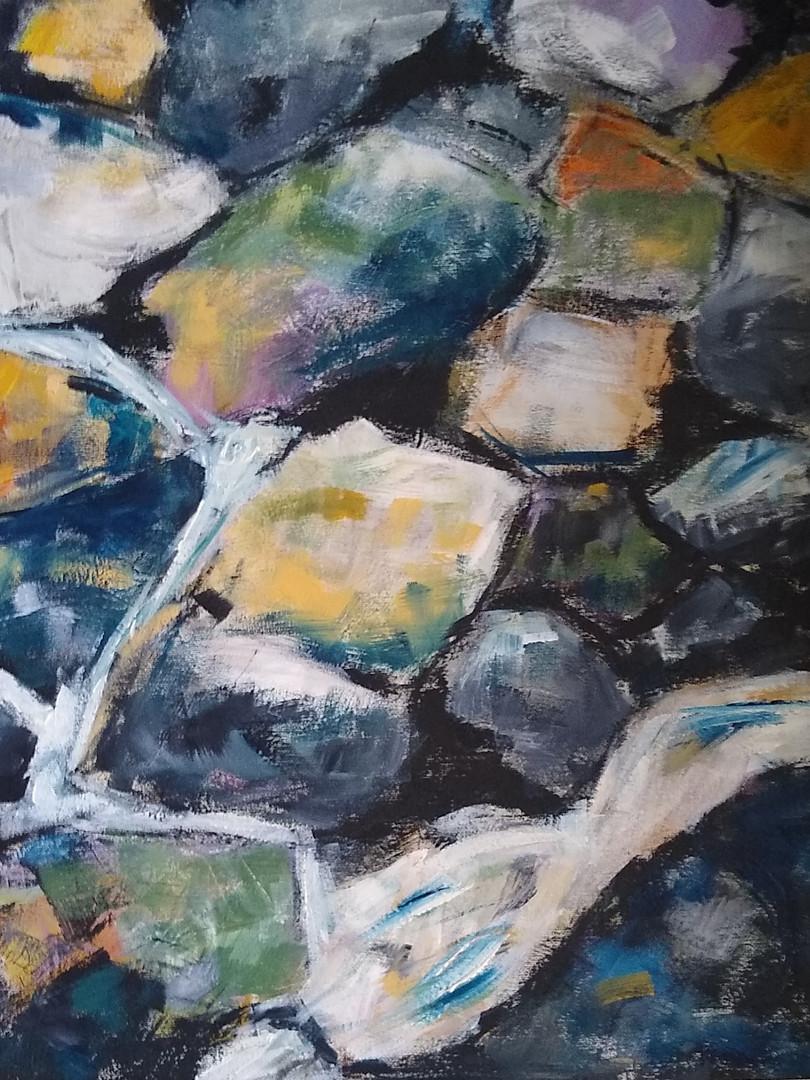 Ann Day 'Cwm Orthyn Rocks'