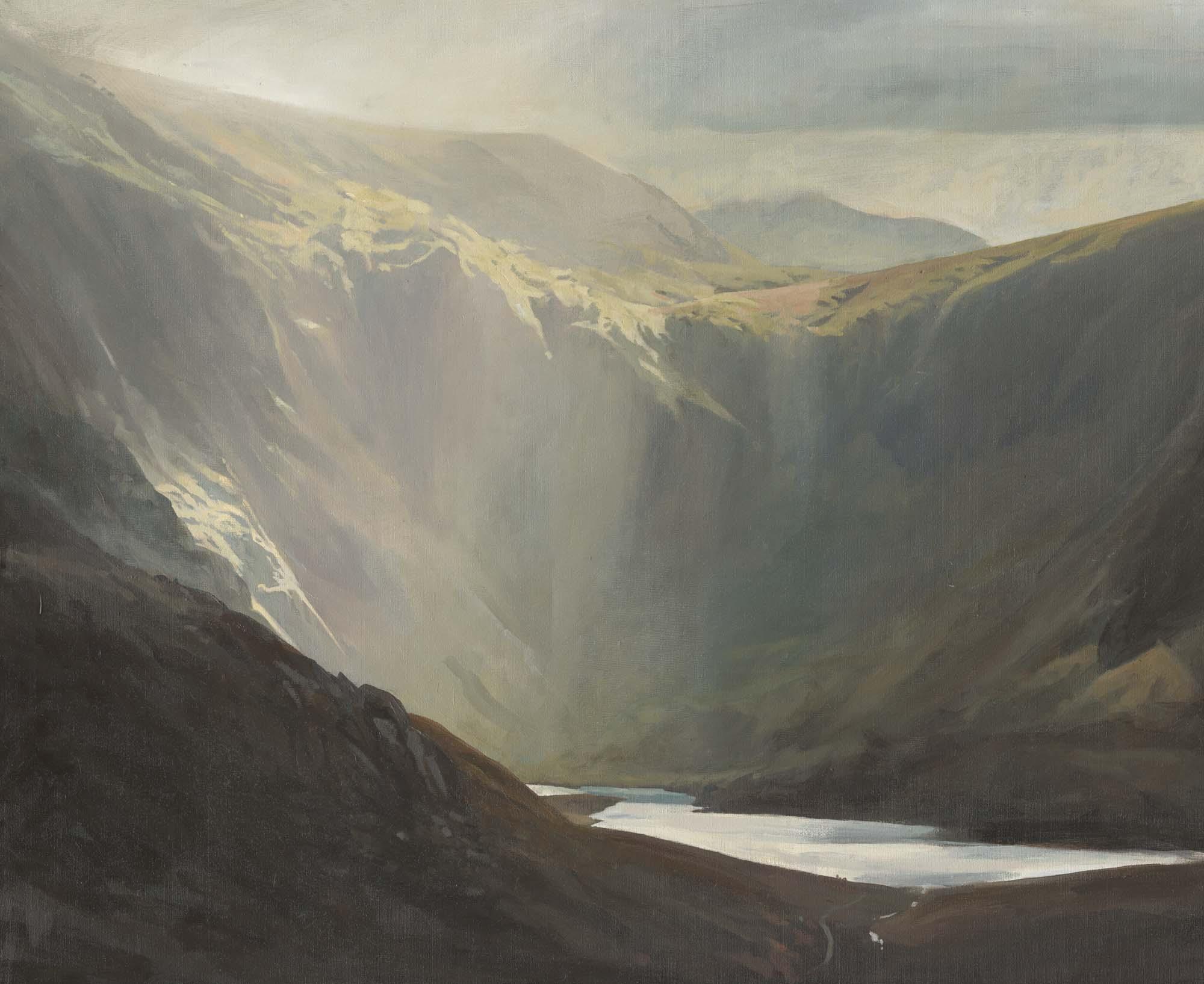 Light over Cwm Idwal - Rob Piercy