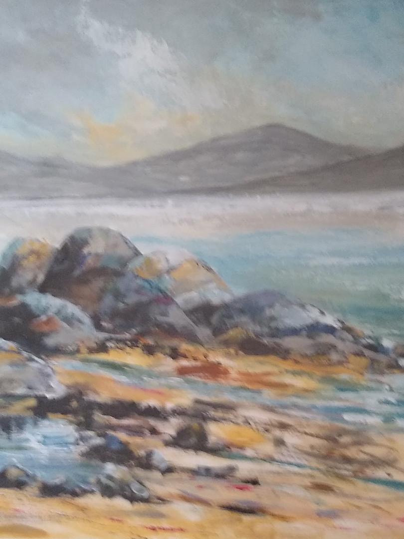 Ann Day 'Criccieth Rocks'