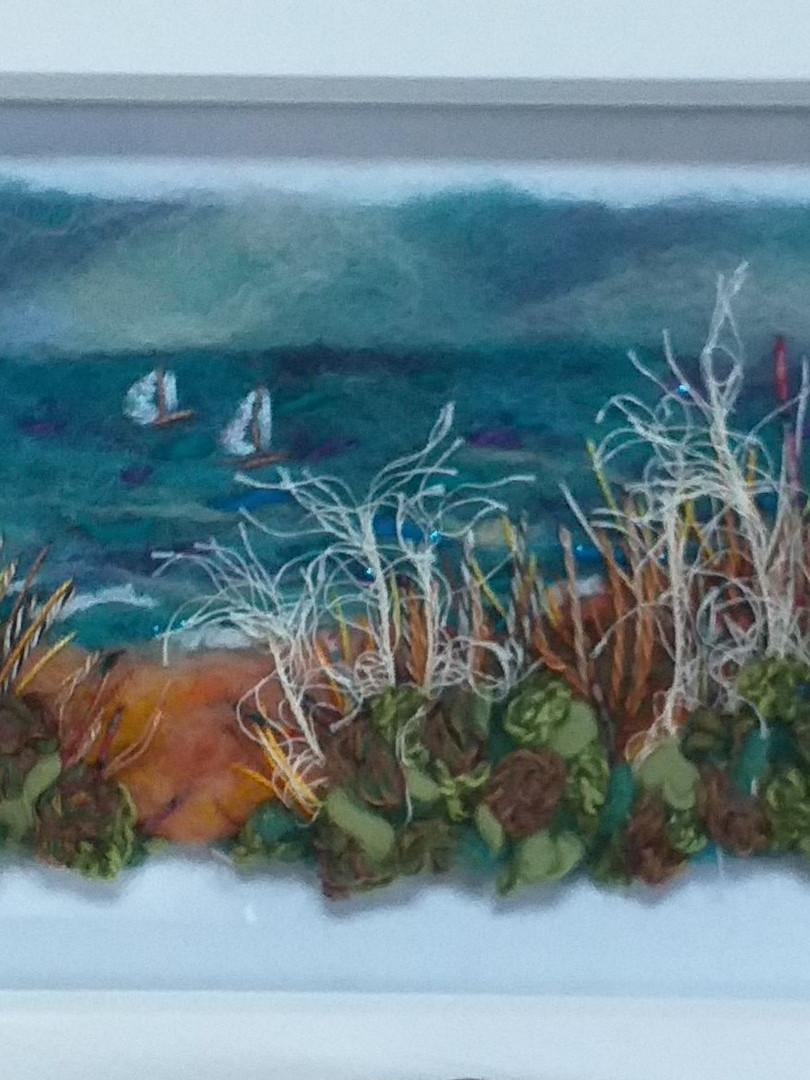 Andi Chell 'Pwllheli Dunes' 60 x 20cms