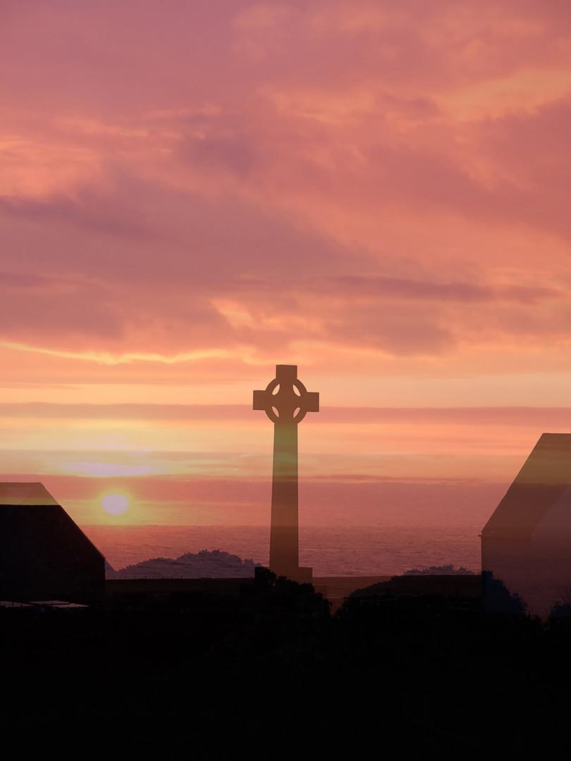 Terry Mills 'Sunset on Bardsey'