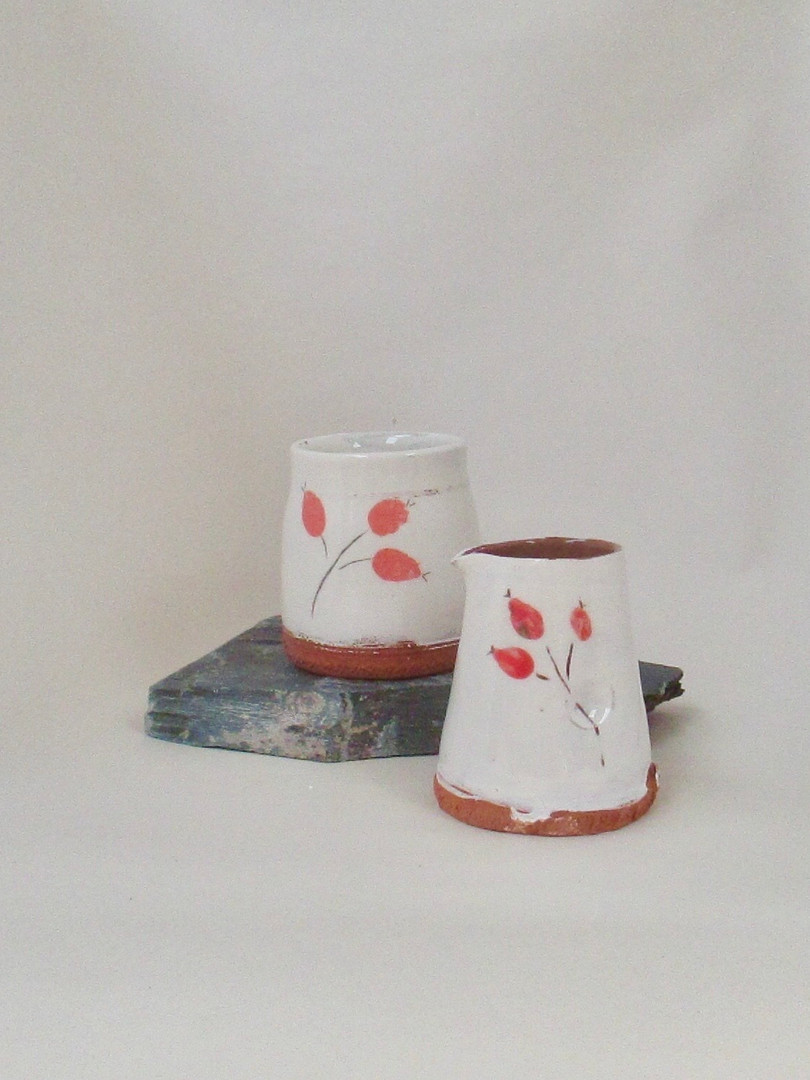 Jane Lelliot  Mug and Jug