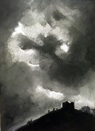 Shades of Grey - Criccieth Castle Ros.jp