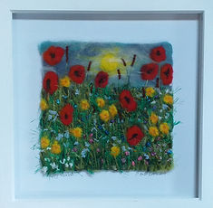 Andi Chell 2 Poppy Meadow 33 x 33cms.jpe