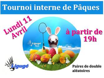 Tournoi interne de Pâques !