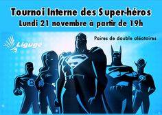 Tournoi Interne des Super-Héros !