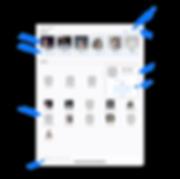 SpeedDial for iPad Main