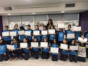 BizWorld Jordn Graduates from the Ruseifeh Refugee Camp in patnership with PACES