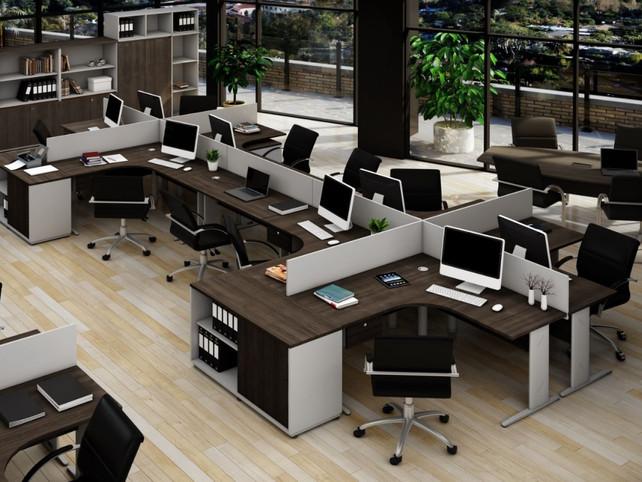 Ambientação em Escritórios Modernos
