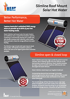 iHeat Solar Hot Water System Alice Springs
