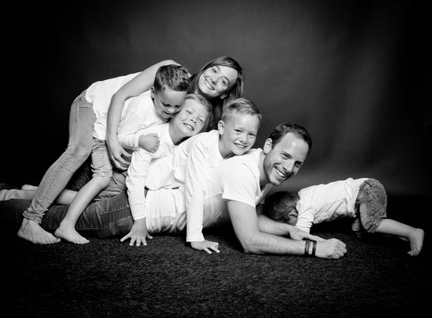 Heureux avec nos quatre fils