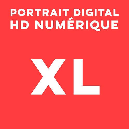 1 PORTRAIT HD NUMÉRIQUE TAILLE XL