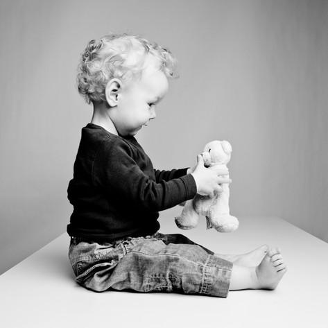 Portrait individuel avec mon doudou ;)