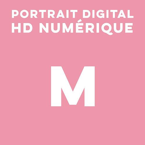 1 PORTRAIT HD NUMÉRIQUE TAILLE M