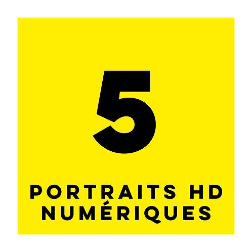 5 PORTRAITS HD - SPEEDSHOOTING