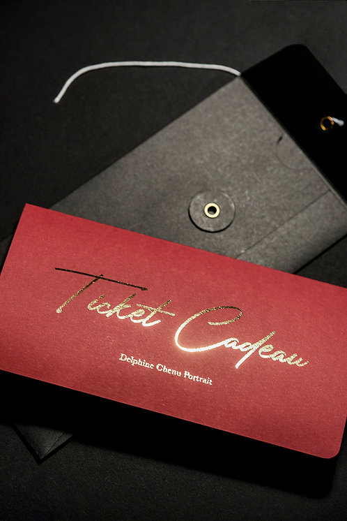 Ticket Cadeau Papier