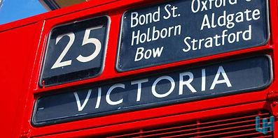 red bus victoria