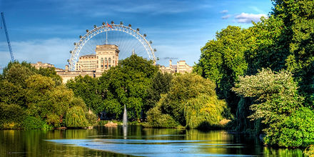st james park london eye