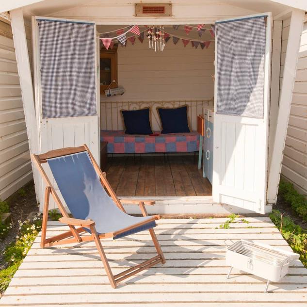 Beach Hut Decking