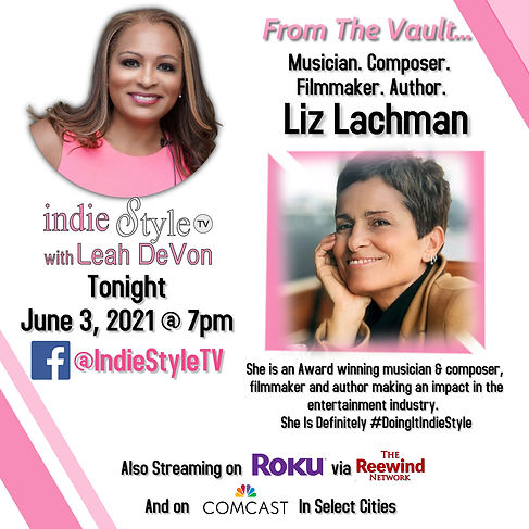 From The Vault Indie Style with Liz Lach