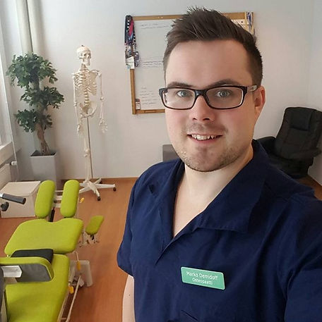 Marko Demidoff, Fysioterapia, Osteopatia, Hieronta
