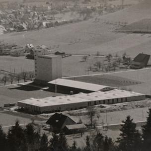 Wollspinnerei Huttwil 1959