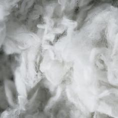 Gewaschene Schafwolle