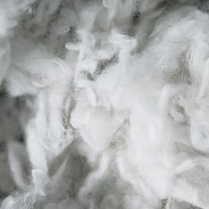 Gewaschene Rohwolle