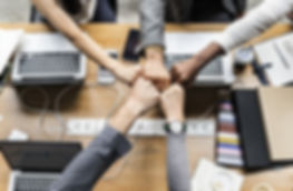 CH&SP - group hands business -achievemen