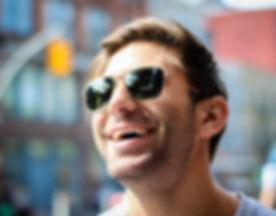 CH&SP - Smiling man - sunglasses - happy