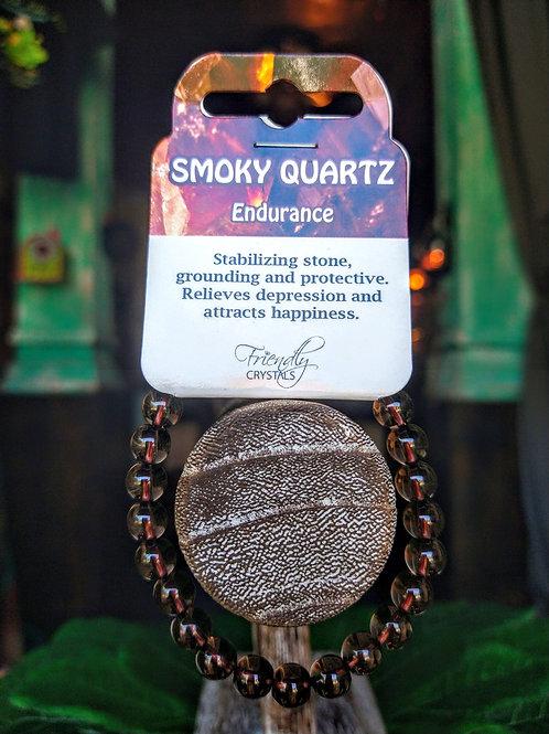Smoky Quartz Power Bracelet