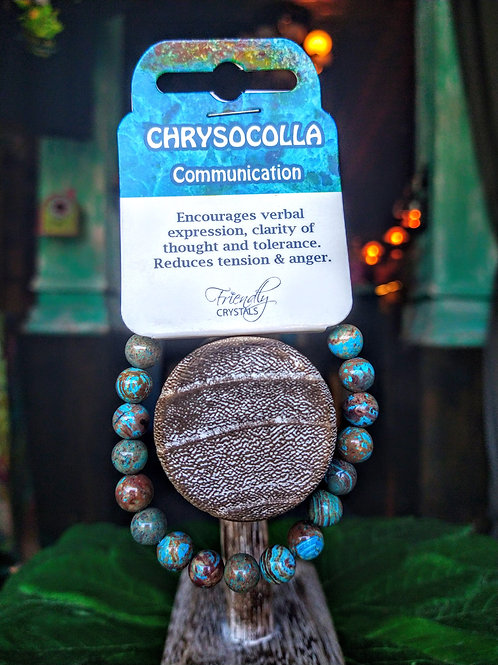 Chrysocolla Power Bracelet