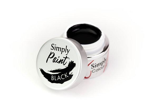 Simply Paint - Black (Art Gel)