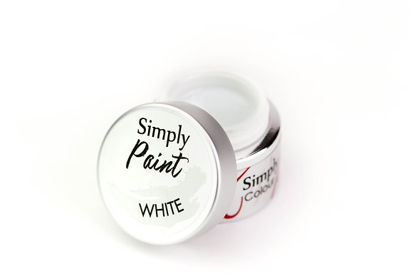 Simply Paint - White (Art Gel)