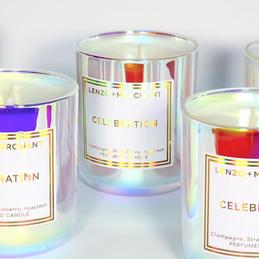 Lenzo & Merchant Celebration Candles