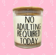 Coconut & Bosco No Adulting Candle