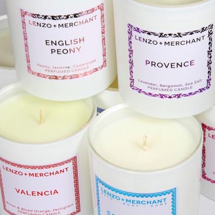 Lenzo & Merchant Candles