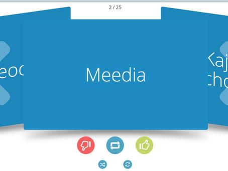 Meediapädevuse mõistekaardid