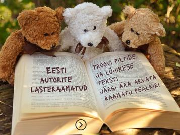 Kas tunned eesti autorite lasteraamatuid?