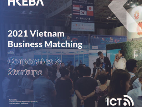 2021 Vietnam Business Matching with Corporates & Startups