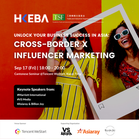 Unlock your business success in Asia: Cross-border x Influencer Marketing