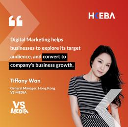 【Speaker Highlight】Tiffany Wan, General Manager, Hong Kong @VS MEDIA