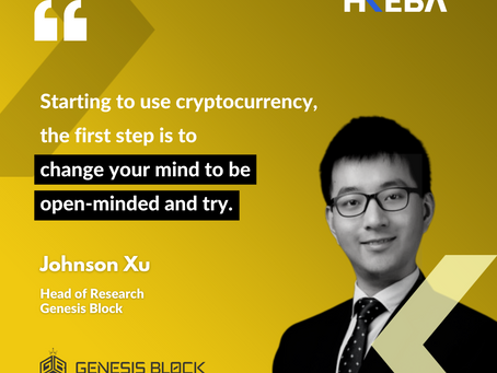 【Speaker Highlight】Johnson Xu, Head of Research @Genesis Block