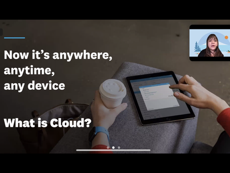 【Thanks for joining!】Future Proof your business with Cloud Accounting