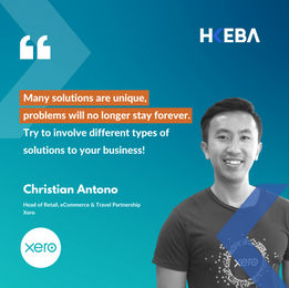 【Speaker Highlight】Christian Antono, Head of Retail, eCommerce & Travel Partnership @Xero