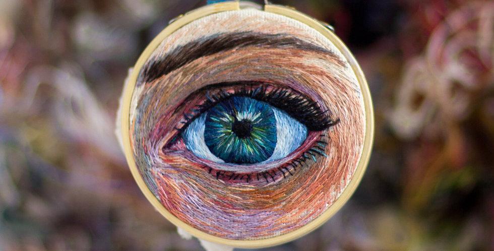 """3"""" Eye Embroidery Hoop"""