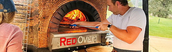 Popular RED OVEN pizzas